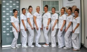 The team at Femi Health and Beauty, an independent salon in Leicester